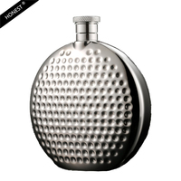 Honest 4oz Luxury Hip Flask Stainless Steel Flask Whiskey Liquor Portable Personality Flask With High Quality