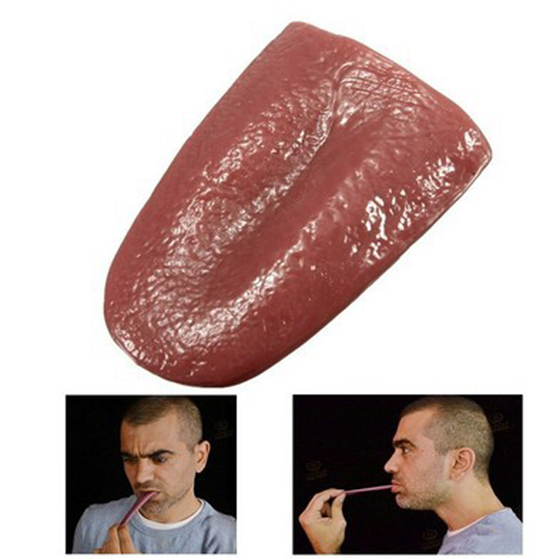 Magic Tricks Decompression Prank Horror Tongue Funny Halloween Party Gift Novelty Gags Practical Jokes Toys For Children
