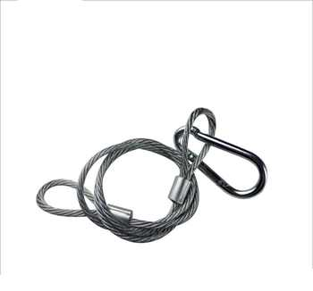 20KG Safety Rope 70CM For Stage Lighting Equipment Free