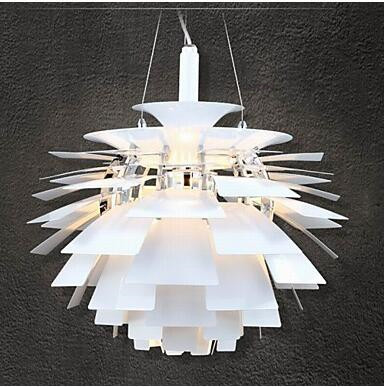 Nordic modern Pastoral piece of pine nuts after the modern creative personality and creative aluminum cone decora pendant light in Pendant Lights from Lights Lighting