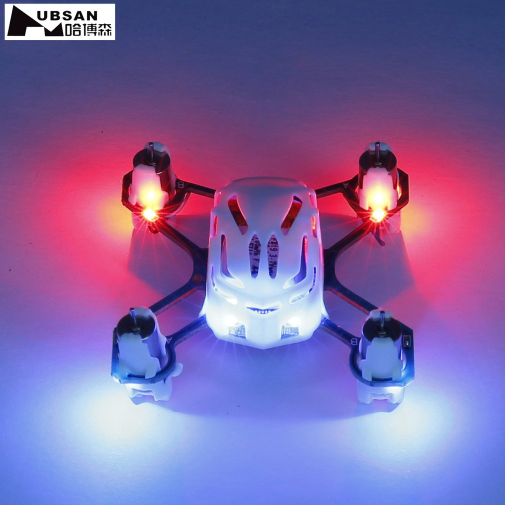 Hot! NANO Q4 H111 4 CH 2.4GHz Remote Control Mini Quadcopter White for Hubsan Helicopter mode 2 Professional RC Drone New