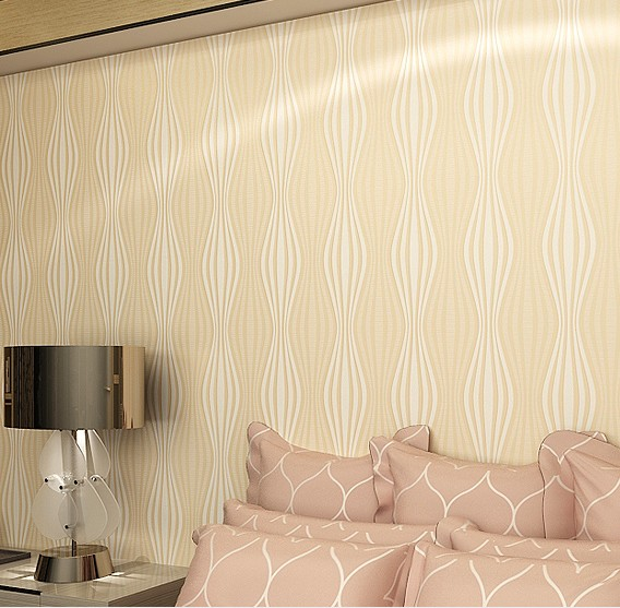 ФОТО 2016 new hot sale environmental non-woven wallpaper sitting room bedroom warmth simple pure color television,film wall paper