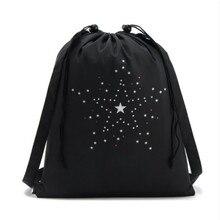 คุณภาพสูงกระเป๋าสตางค์กระเป๋าเดินทางกระเป๋าเดินทางกีฬารองเท้าเต้นรำ Unisex Travel กระเป๋าเป้สะพายหลังสีดำกระเป๋าพิมพ์
