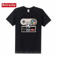 Мастер Дизайн Xbox игровая Playstation футболка Винтаж PS геймпад футболка Ретро ботаник 80 90 PS4 футболка Для мужчин хип-хоп круглым вырезом Camisetas