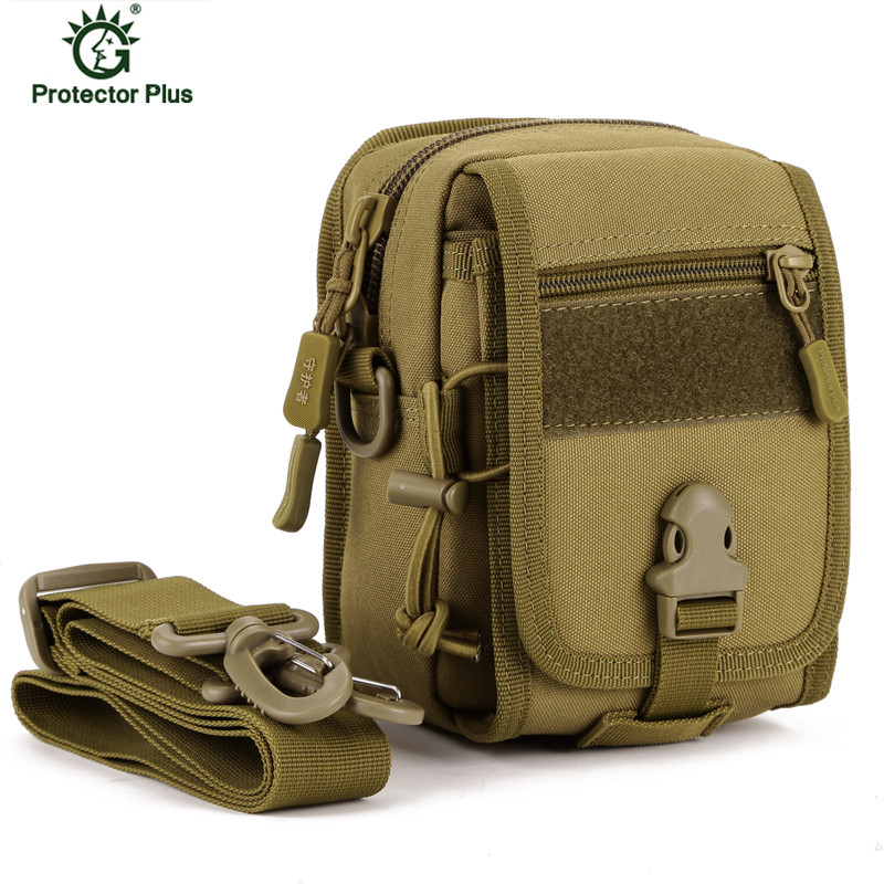 Tactical Molle Pouch Belt Waist Pack Military Shoulder Messenger Bag Daypack
