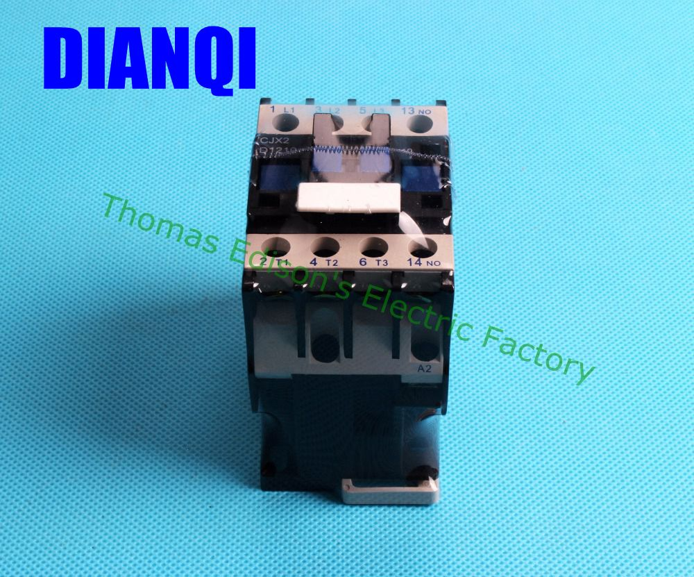Motor Starter Relay CJX2-1210 contactor AC 12A Voltage optional LC1-D 24V 36V 48V 110V 220V 380V LC1 ac contactor 50HZ 60HZ