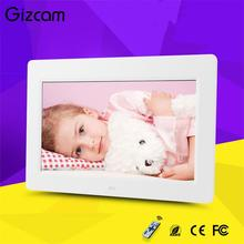 Gizcam 10″ TFT-LCD HD Ditital Photo Frame Picture Music Video Player MP3 MP4 Player Home Wedding Photograph Decor Remote Control