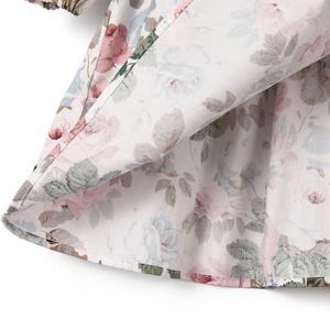Image 4 - ملابس أطفال مريحة للخريف والشتاء برقبة مستديرة من Flofallzique فستان أطفال بنات أكمام طويلة للخريف