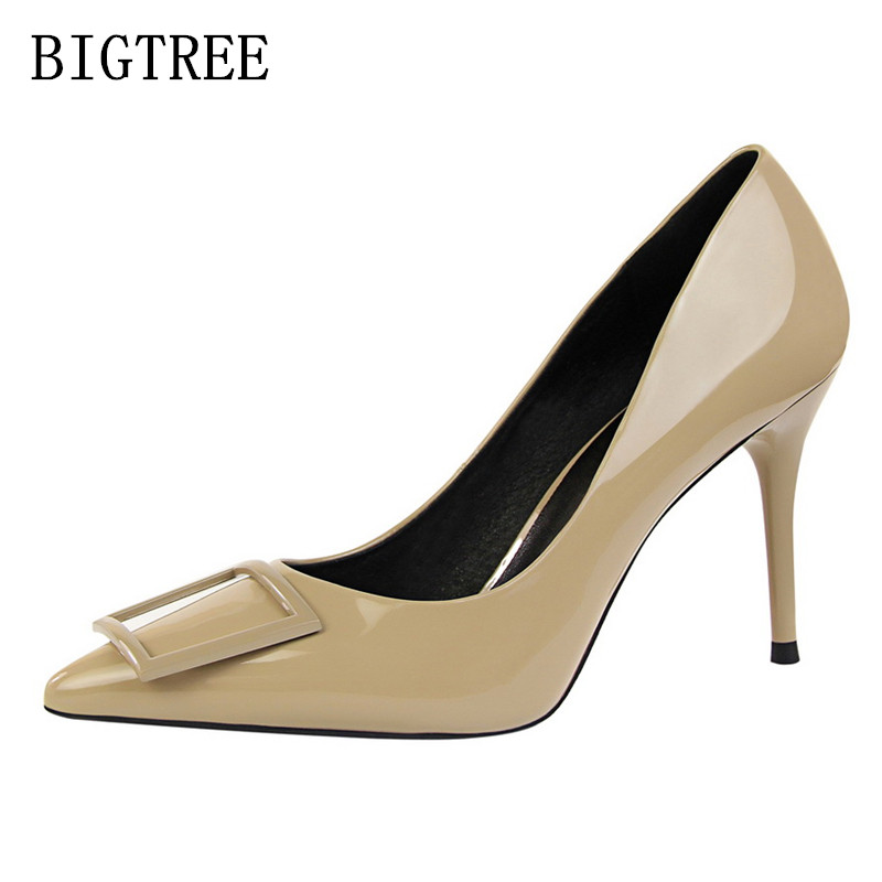 sexy pointed toe high heels wedding shoes bride extreme high heels shoes women pumps italian euros luxury brand bigtree shoes bigtree wedding shoes women pumps high heels pointed toe sexy women shoes soft for lady high heel shoes k91