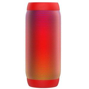 Image 4 - Bluetooth スピーカーカラフルな防水スーパー低音サブウーファー屋外スポーツサウンドボックス FM ポータブルスピーカー Iphone Xiaomi Huawei 社