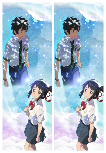 Life-sized Pillowcase Japanese Anime Your name two side printed Pillow Cover 50cmx150cm Decorative Pillowcases