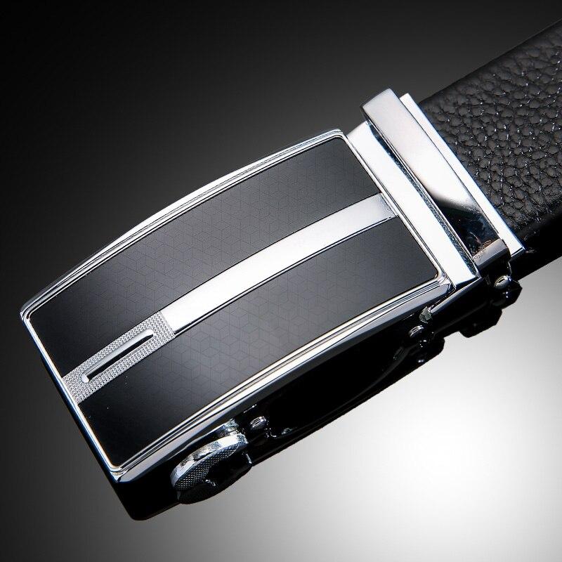 IFENDEI Hidden Pocket Money Belt Secrete 100% Cowhide Leather Belts Men Luxury Fashion Automatic Buckle Zipper Belts Ceinture