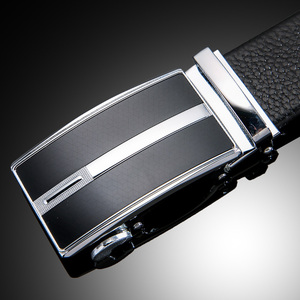 Image 1 - Ifendei 隠しポケットマネーベルト分泌 100% 牛革ベルト男性の高級ファッション自動バックルジッパー ceinture