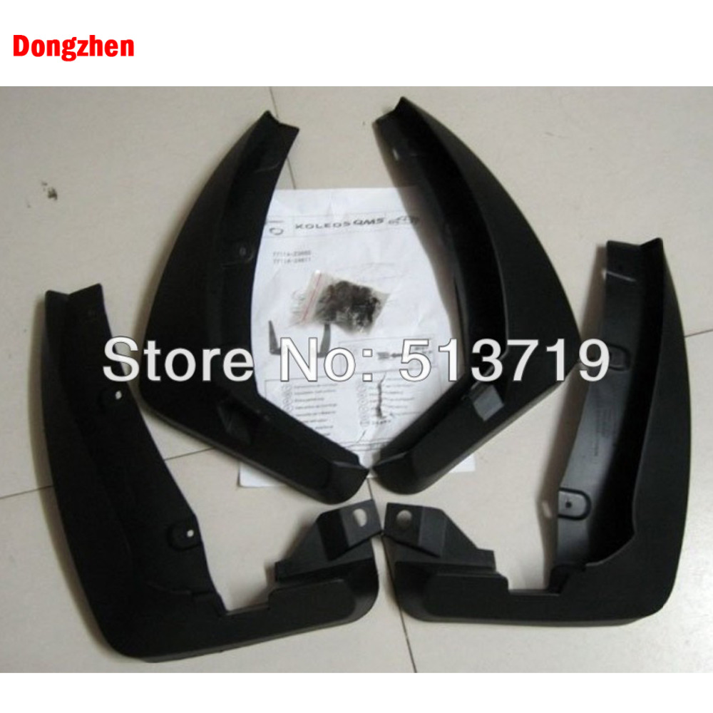 Dongzhen 4pcs Auto Mudguard Mudflaps Fender Mud Flap Splash Guard Fit For TOYOTA Previa 2009 2013