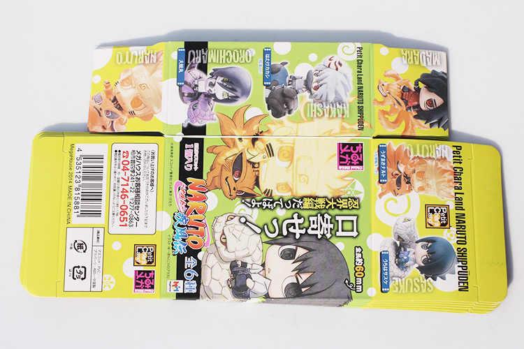 6Pcs/Set Naruto Uzumaki Naruto Orochimaru Uchiha Sasuke Hatake Kakashi Mini PVC Action Figure Toys Dolls