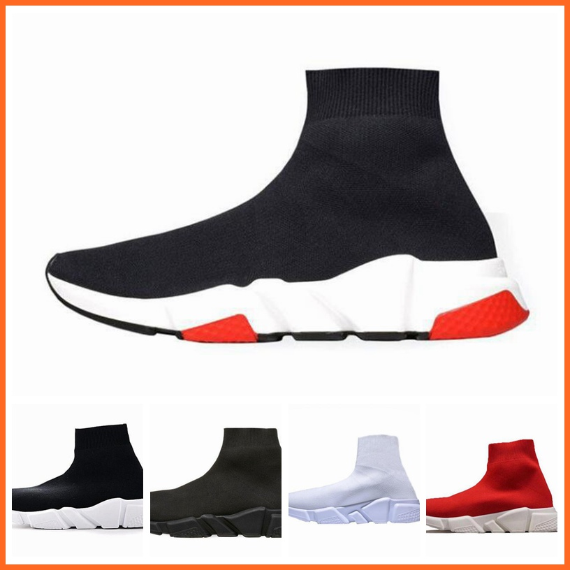 2019 Balenciagas Sock Shoes Trainer men Shoes 2018 Race Runners Shoes women Tripe S 2.0 Track size 36 45 SPEED RUN