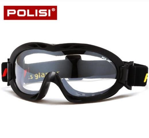 POLISI 2017 Snowboard Dustproof Sunglasses Motorcycle Ski Goggles Lens Frame Glasses
