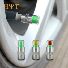 4PCS/Set Car Tire Pressure Monitor Valve Stem Cap High Quality Sensor Indicator Diagnostic Tools for Pressure & Vacuum Testers