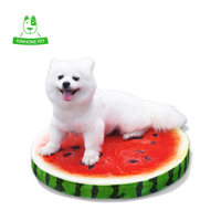 KIMHOME 2016 New Watermelon Orange Kiwi Washable Waterproof Pet Small Dog Cats Cushions Bed Mat Pad