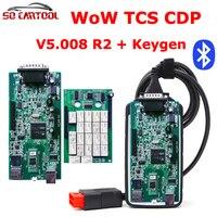 5Pcs Lot New V5 008 R2 WoW Snooper With Keygen Bluetooth OBD2 Diagnostic Tool Better