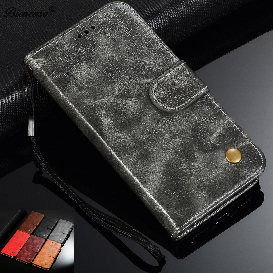 Retro Leather Wallet <font><b>Case</b></font> For Huawei <font><b>Honor</b></font> 8 Pro <font><b>7</b></font> 9 V9 5C 6C V9 Play 7X 6X 8C 8X Nova 4 2 View 20 V20 10 V10 Y3 II P9 Cover image