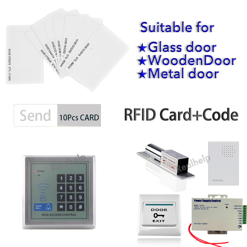 2000Users Professional Keyless RFID Access Control Card Standalone Access WG Standalone Door Access Control System metal rfid em card reader ip68 waterproof metal standalone door lock access control system with keypad 2000 card users capacity