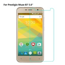 цена на For Prestigio Muze D3 E3 B3 B7 Grace Z5 Tempered Glass Steel Film Front Protective Replacemant Part Screen Protector Phone Film<