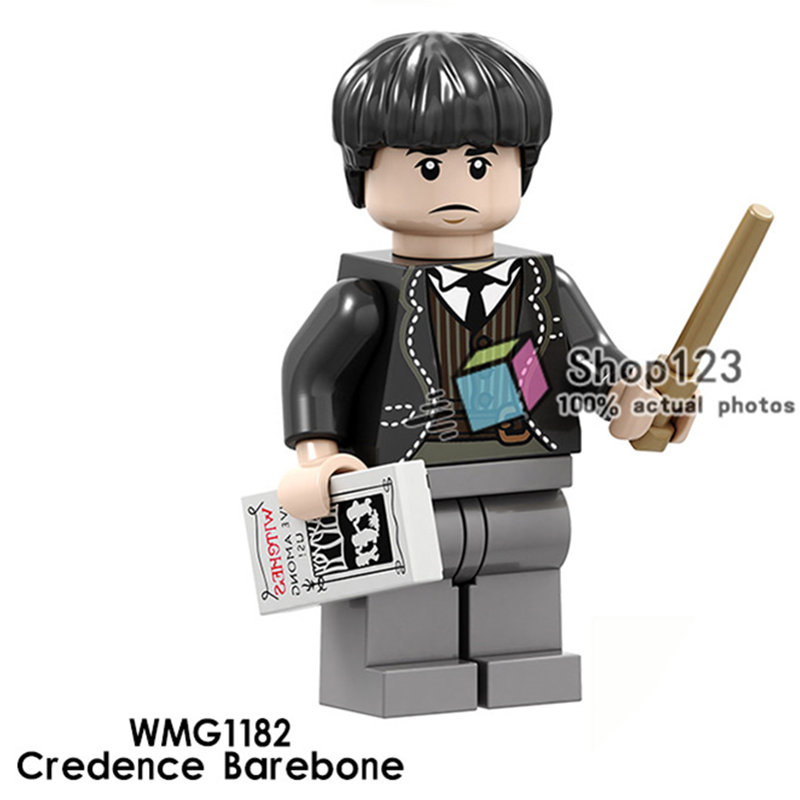 Legoing Friends Legoing Figures Credence Barebone Lord Voldemort Alastor Moody Dumbledore Building Blocks Toys Children Juguetes