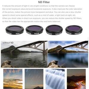 Image 2 - Para MAVIC2 Zoom Câmera de Vidro Óptico Filtro de Densidade Neutra Conjunto Para DJI Mavic 2 Zoom Lentes Filtros CPL UV Zangão acessórios