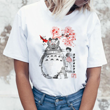 totoro t shirt women top tee shirts
