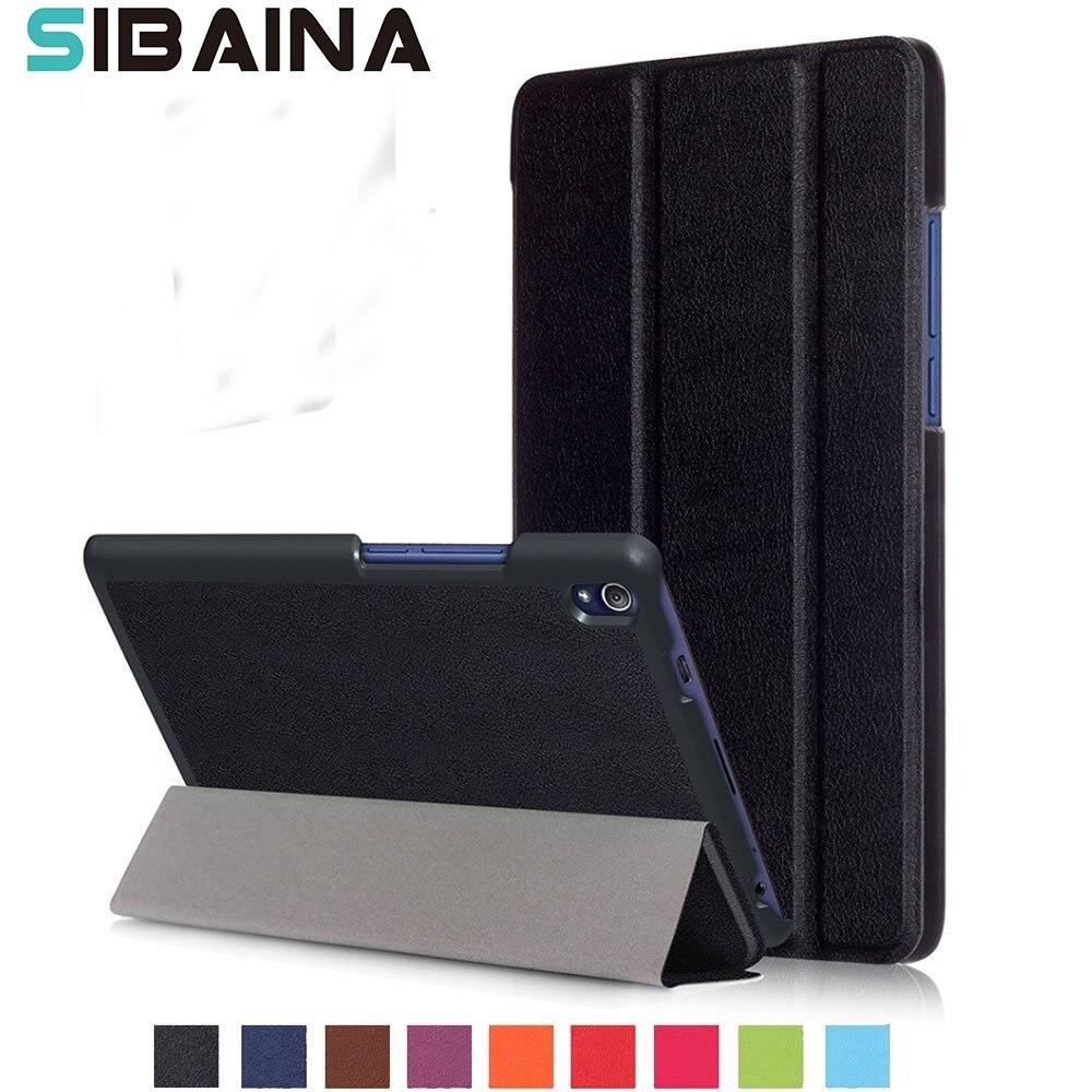 Case Cover For Lenovo TAB3 Tab 3 8 Plus 8703 8703x TB-8703F TB3-8703 TB3-8703 Tablet Stand Case For Lenovo Tab 3 8 Plus Capa