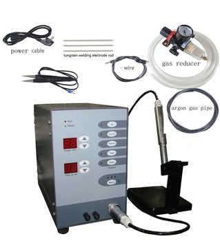 220 V Edelstahl Spot Laser Schweißen Maschine Automatische Numerische Steuerung Touch Puls Argon Arc Schweißer für Löten Schmuck