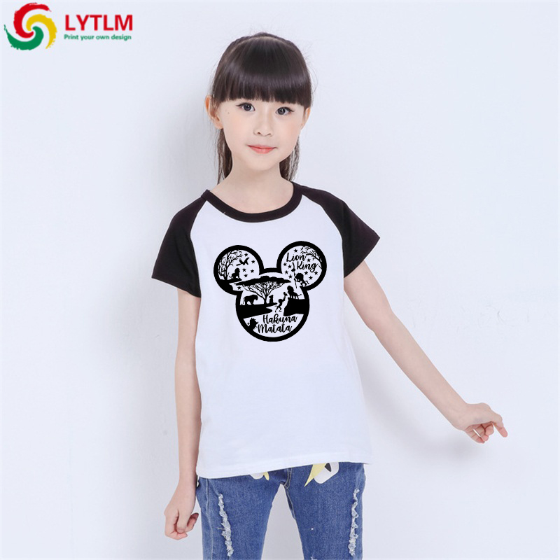 LYTLM Toddler Kid Baby Boy Outfits Clothes Cartoon Print XXX Kids Hakuna Matata Kids Tshirt Rey Leon Boys Tshirts Summer 2019(China)