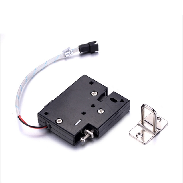 5pcs per pack DC 12V 2A Solenoid Electromagnetic Electronic Control File Box Cabinet Drawer Lockers Lock latch