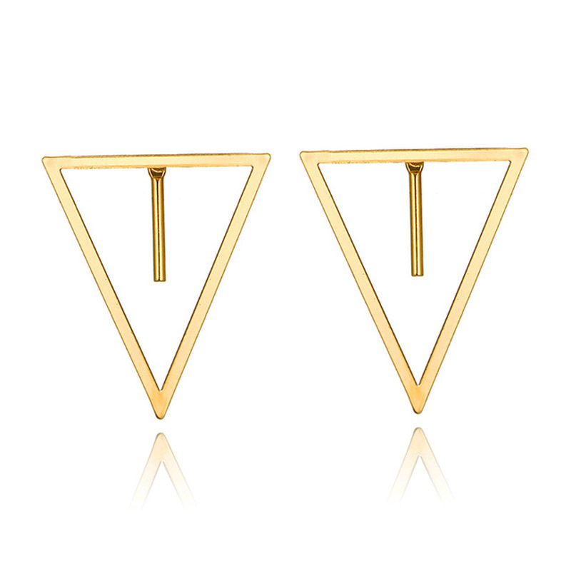 Mossovy Star Simple Rhinestone Silver Stud Earrings for Women Fashion Alloy Tassel Earrings for Female Jewelry Pendientes Mujer in Stud Earrings from Jewelry Accessories