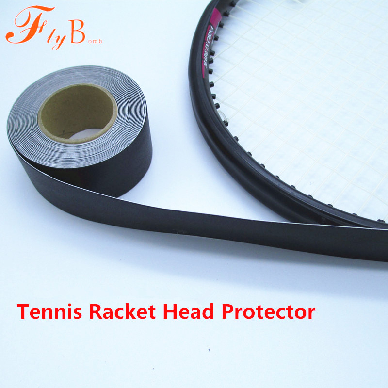 480cm Tennis Dedicated Racket Head Protector Stickers Racquet to Reduce the Impact and Friction Stickers tenis Overgrip