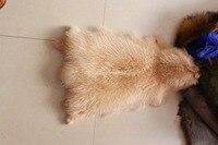 Мех енота сырье Пелт/тушеный мех енота доступен для окраски любого цвета