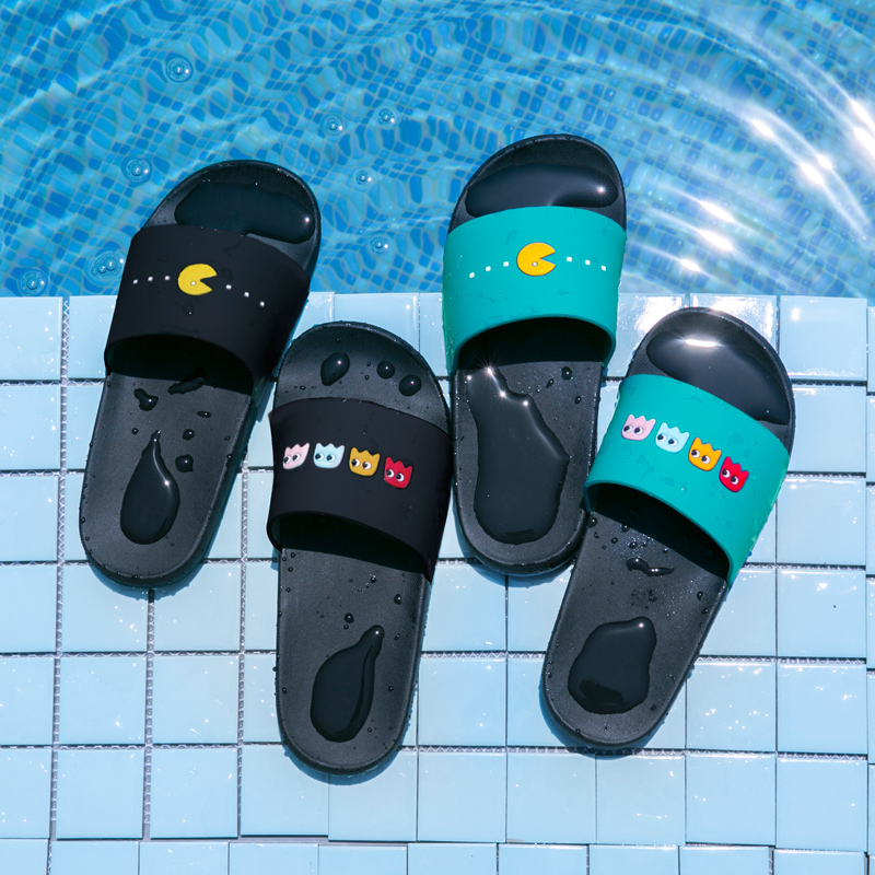 Slippers summer slippers home summer lovers male women's indoor slippers