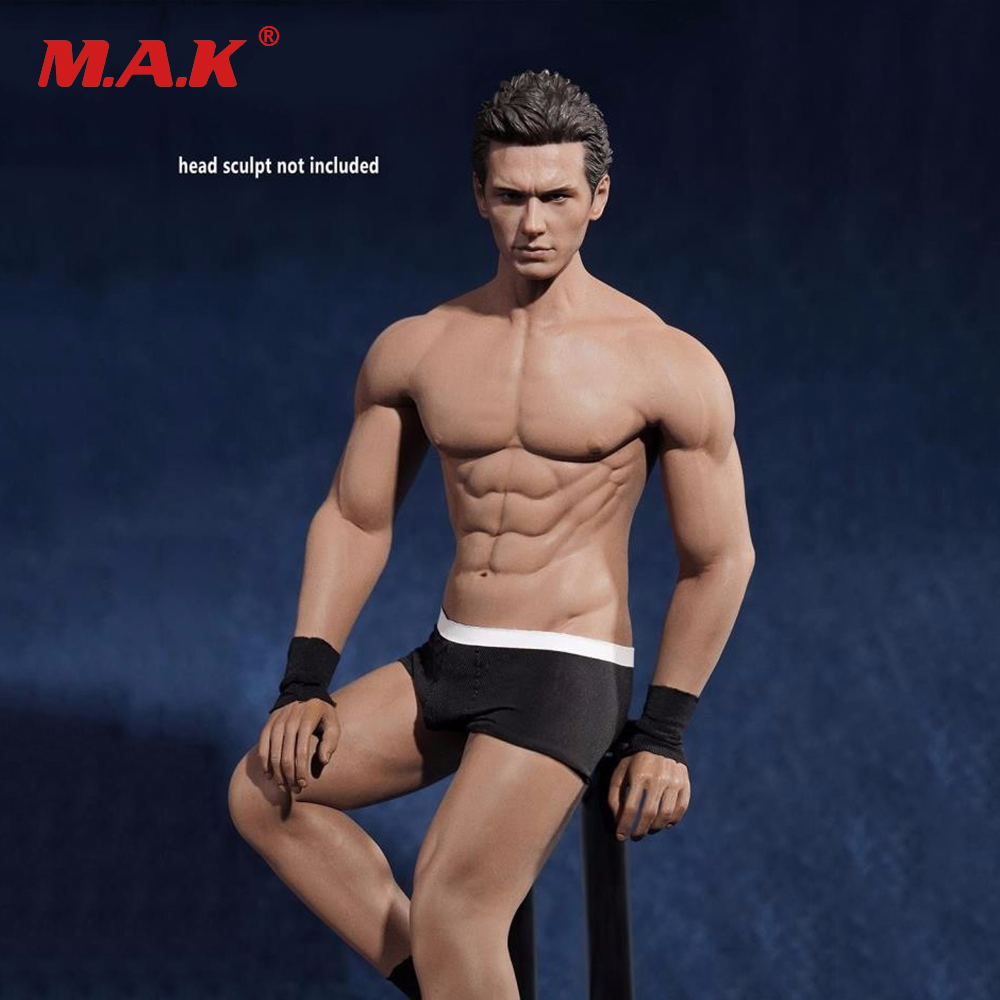 1/6 Scale Male Body Figure Super Flexible Seamless Body With Stainless Steel Skeleton Gym Muscular Figure for PH Head Figure 1 6 scale figure doll muscular body for 12 action figure doll accessories europe strong muscles or asia muscular body