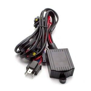 Image 3 - Xenon Hid Kit h4 3 Bixenon HALLO/LO strahl Bi Xenon 12V 35W H4 HB2 9003 H/ L xenon HID ersatz kit für Auto scheinwerfer
