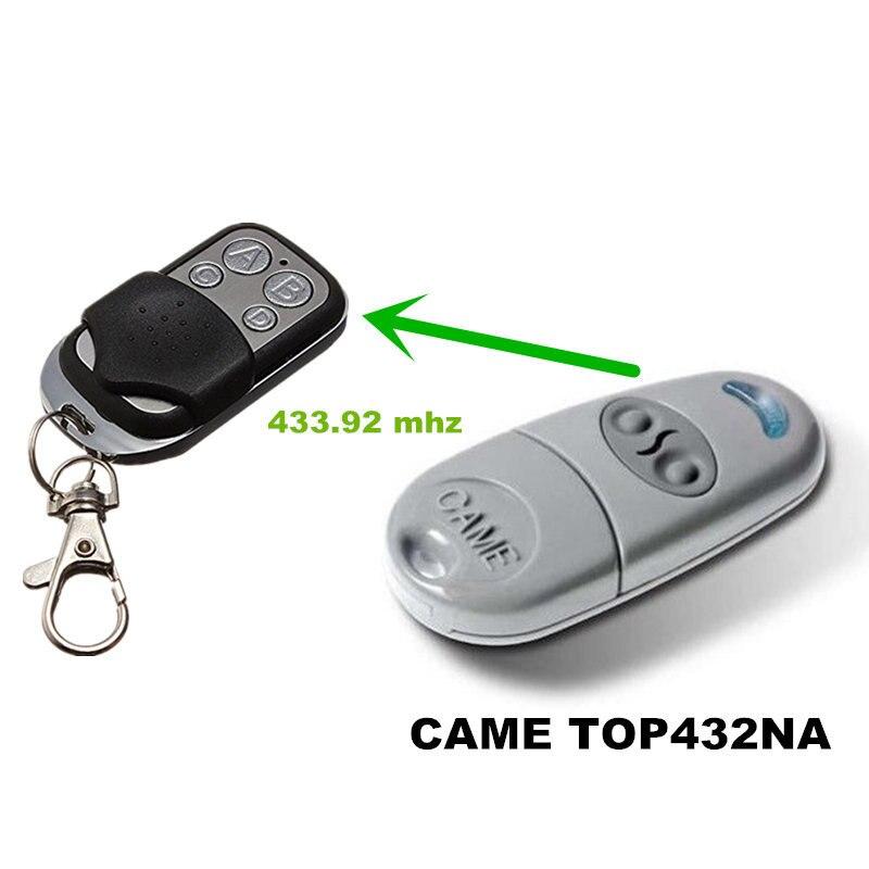 10pcs lot Copying CAME TOP 432NA Duplicator 433 92 mhz Remote Control Cloning 433 mhz Transmitter