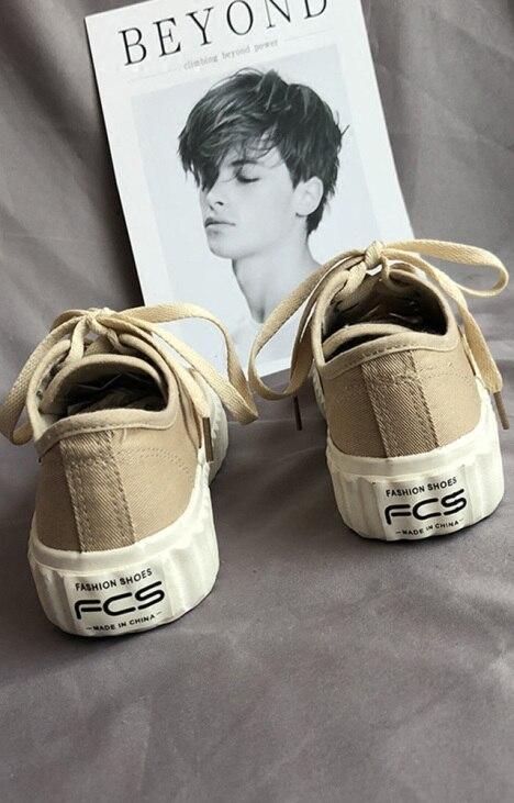 86e776d9b 2018 nova versão Coreana do ins batida rua sapatos brancos do sexo feminino  selvagem ulzzang lona