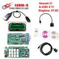 Mais novo A.1281 Z adesivos Firmware 921815C Lexia3 Lexia 3 V48 PP2000 V25 Diagbox 7.83 Lexia 3 Lexia-3 PP2000 Ferramenta de Diagnóstico