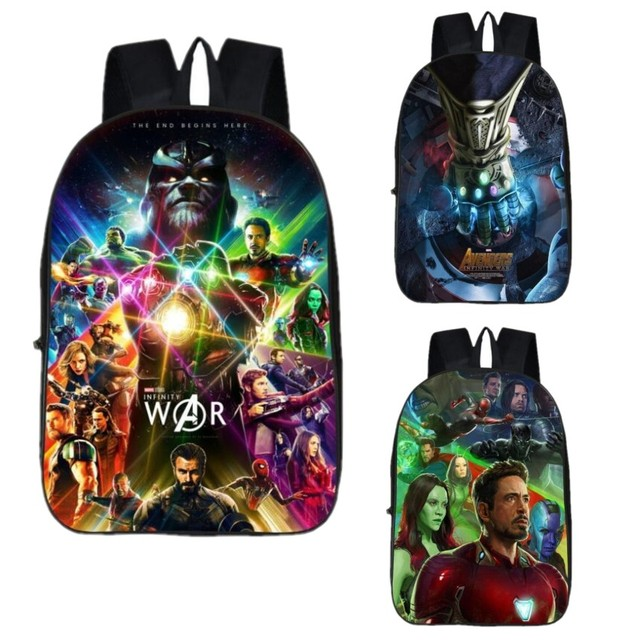 Mochila Marvel Avengers School Bags Boys Cool Avengers Backpack Teenagers  Bookbag Girls Travel Bag Unisex Laptop f2ac91692c31a