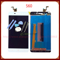 For Lenovo S60 LCD Screen with Touch Screen Digitizer Assembly Black/White +Tools Free Shipping