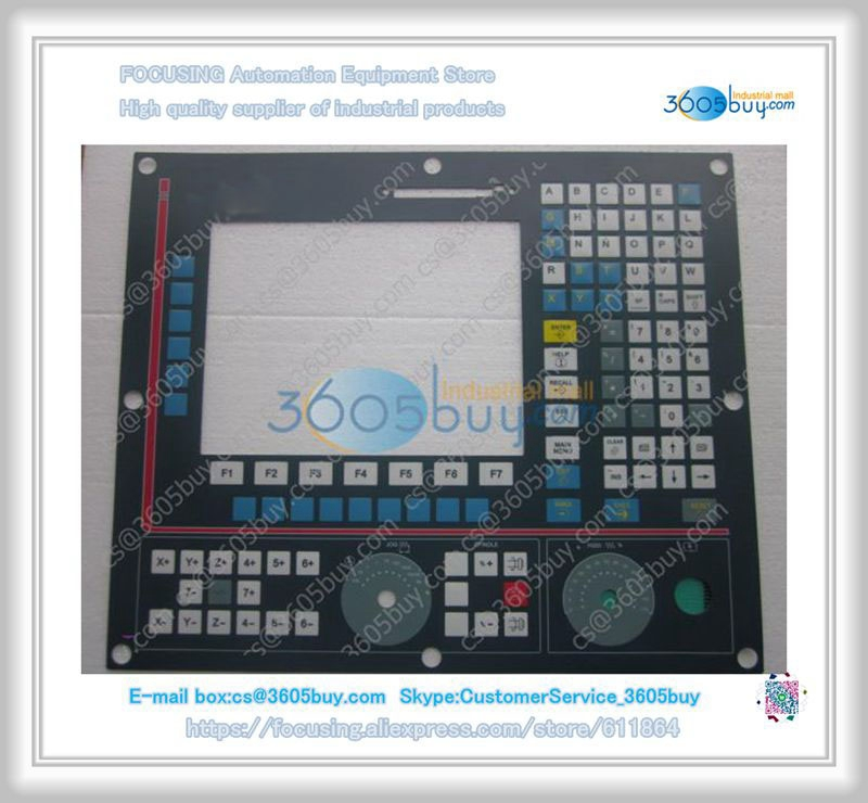 New 8040FAGOR 8040 8025 8035 8055 operation panel keysters panel op17 6av3617 1jc20 oax1 keysters mask new