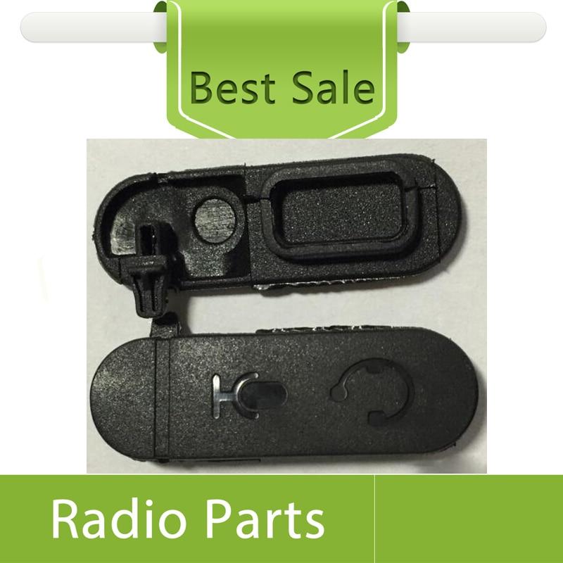 imágenes para 10X Cubierta de Polvo Para XIR P3688 DEP-450 Auriculares Jack Cubierta