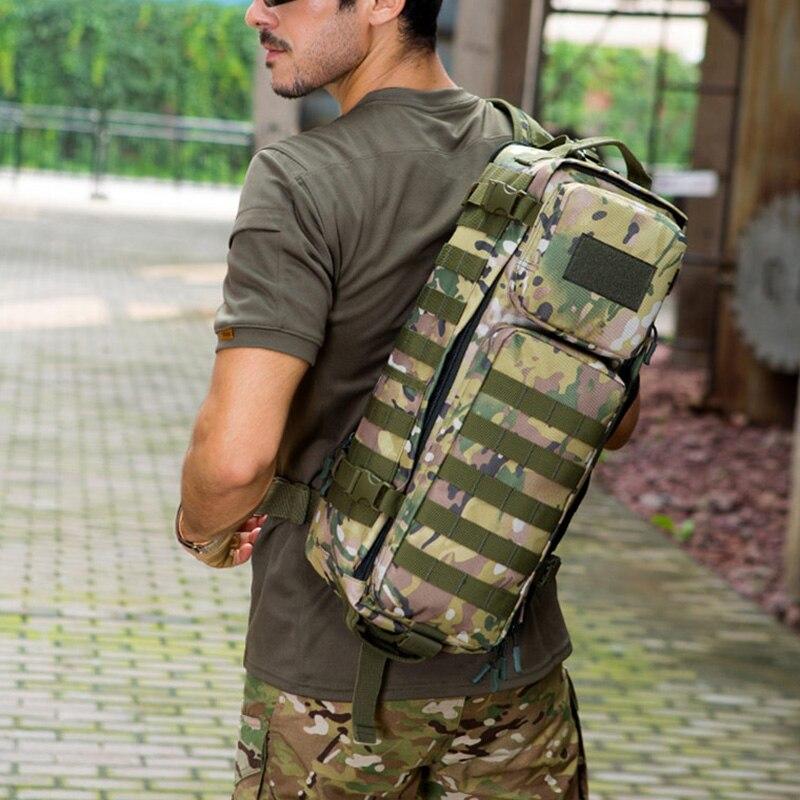 30L tactique sac à dos poitrine fronde sac à dos multifonction Molle militaire sac homme épaule armée sacs alpinisme en plein air XA44D - 6