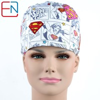 Hennar Brand Unisex Medical Surgical Caps Dentist Caps Hats Pet Doctor Cap Hats Scrub Caps