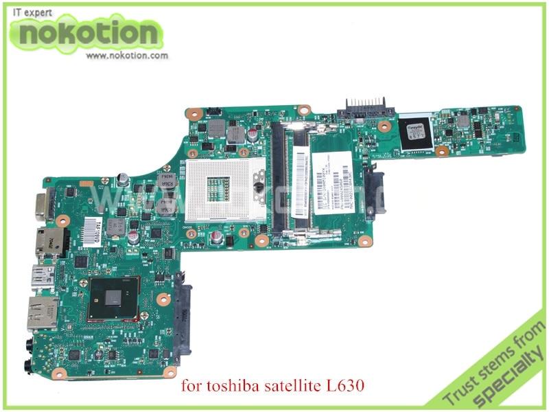 NOKOTION SPS V000245060 For toshiba satellite L630 laptop motherboard HM55 DDR3 6050A2338401-MB-A02 nokotion 60 days warranty laptop motherboard for toshiba satellite s50 s50dt a a6 5345m cpu pn 1310a2556002 sps v000318020
